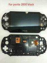 Original 100% neue für psvita für ps vita 2000 lcd display screen montiert 4 farben mit free screen protector