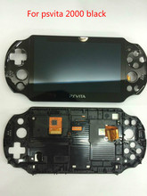 original 100% new for psvita for ps vita 2000 lcd display screen assembled 4 colors with free screen protector