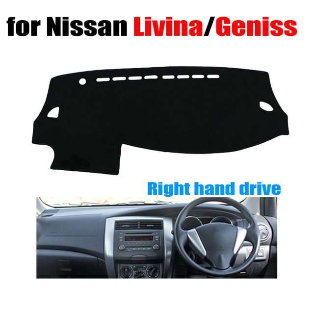 Car dashboard cover mat for Nissan LIVINA / GENISS all the year Right hand drive dashmat pad dash covers dashboard accessories