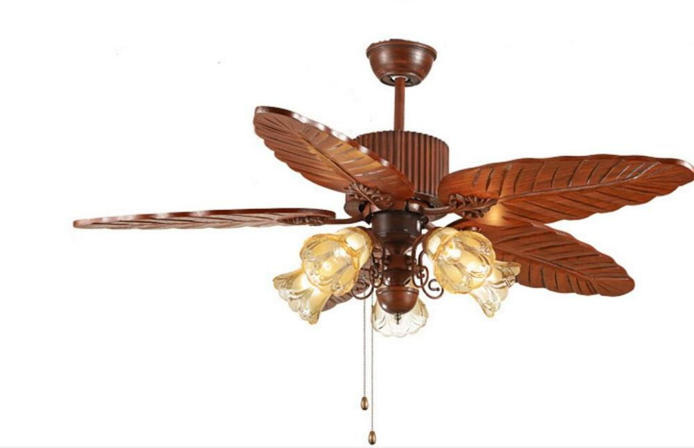 Ceiling Fan Huge Leaf Blades With Five