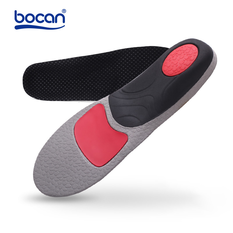 BOCAN Orthopedic insoles for flat foot orthopedic arch support man and women shoe insoles shock absorption insoles 6010 кабель qed hdmi reference 2m