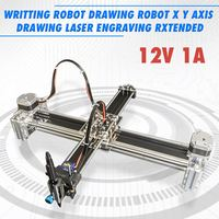 12V 1A 2 Axis Writing Drawing Robot X Y Axis Drawing Laser Engraving Extended Writing Robot