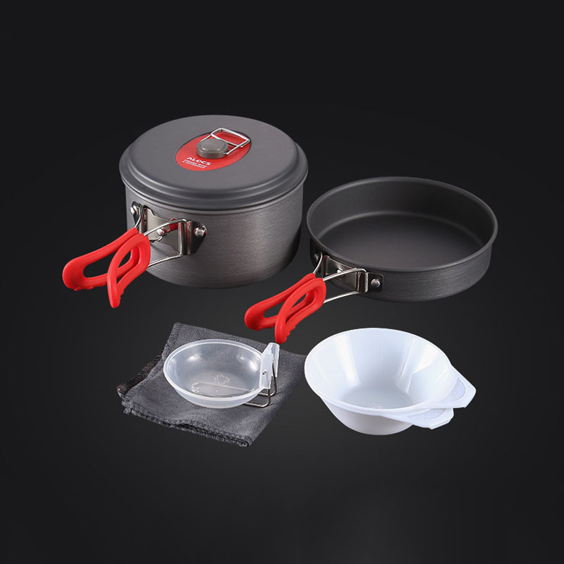 portable Camping Pot Pan Kettle Set Aluminum Alloy Outdoor Tableware Cookware 3pcs/set Teapot Cooking Tool For Picnic Bbqportable Camping Pot Pan Kettle Set Aluminum Alloy Outdoor Tableware Cookware 3pcs/set Teapot Cooking Tool For Picnic Bbq