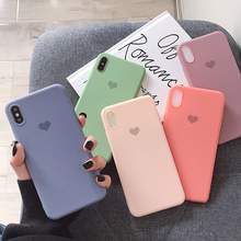 VZD net red for iphone xs max mobile phone case 8plus/7/6s female x/xr soft silicone anti-fall 7p