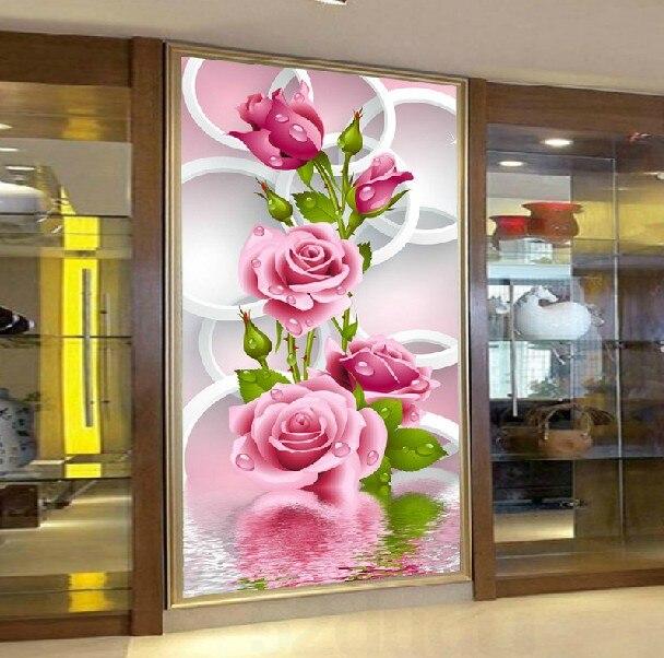 алмазная вышивка цветы купить в Китае