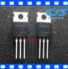 100% original 10PCS IRF4905 IRF4905PBF TO 220