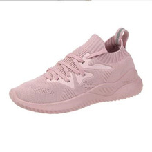 New popular mesh female casual shoes fashion wild breathable womens sneakers comfortable