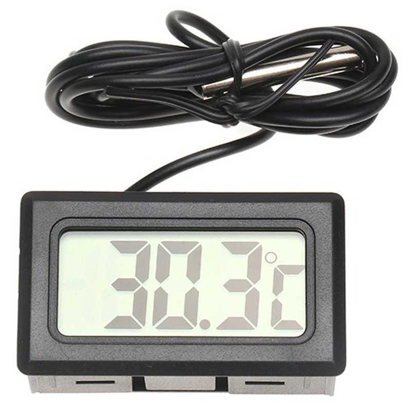 Car Ornaments Accessories Digital LCD Display Car Interior Temperature Meter Tools Thermometer Temperature Sensor