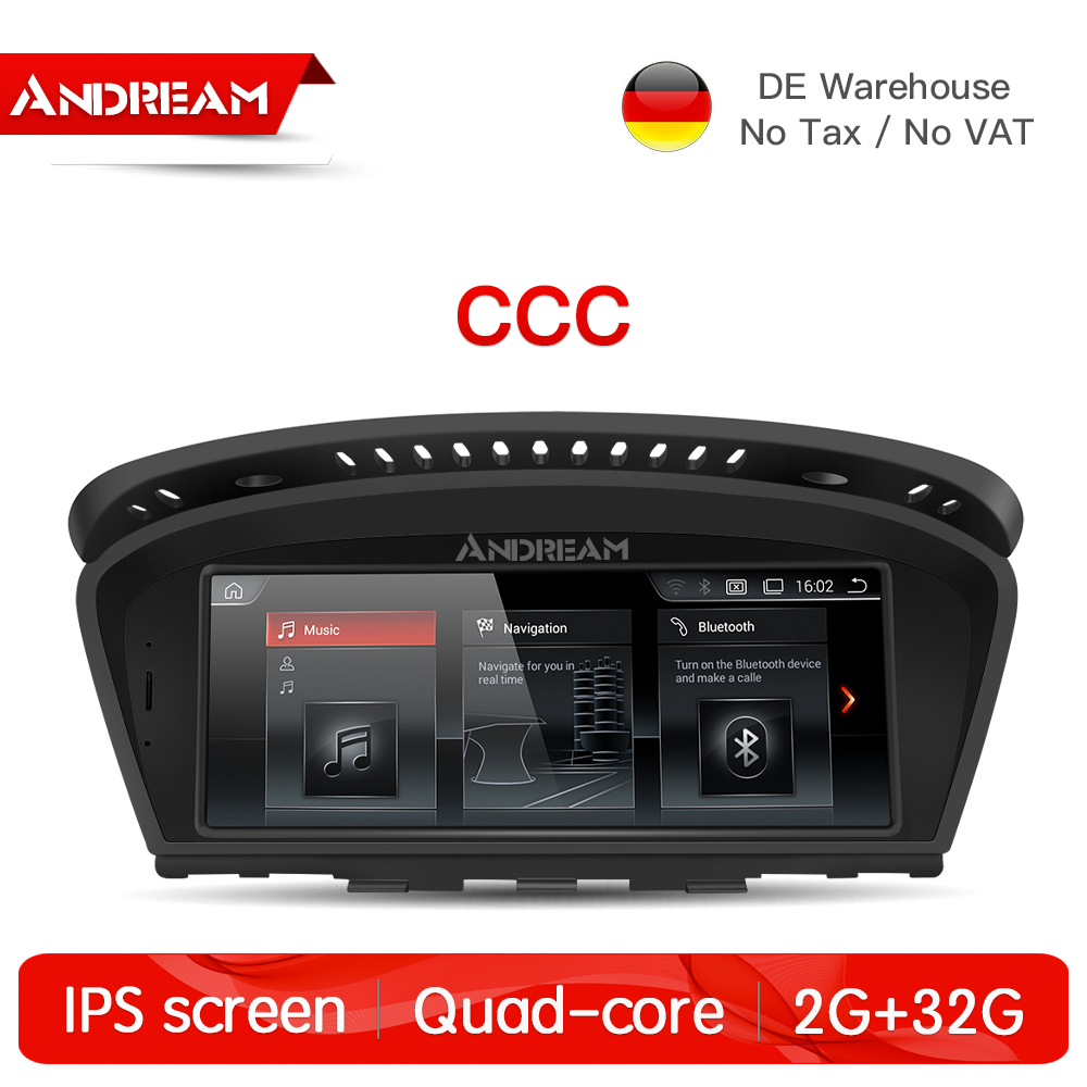 8.8 Android7.1 2G+32G for CCC IPS Car Interface MultiMedia for BMW Series3 5 E60 E61 E90 E91 GPS navigation