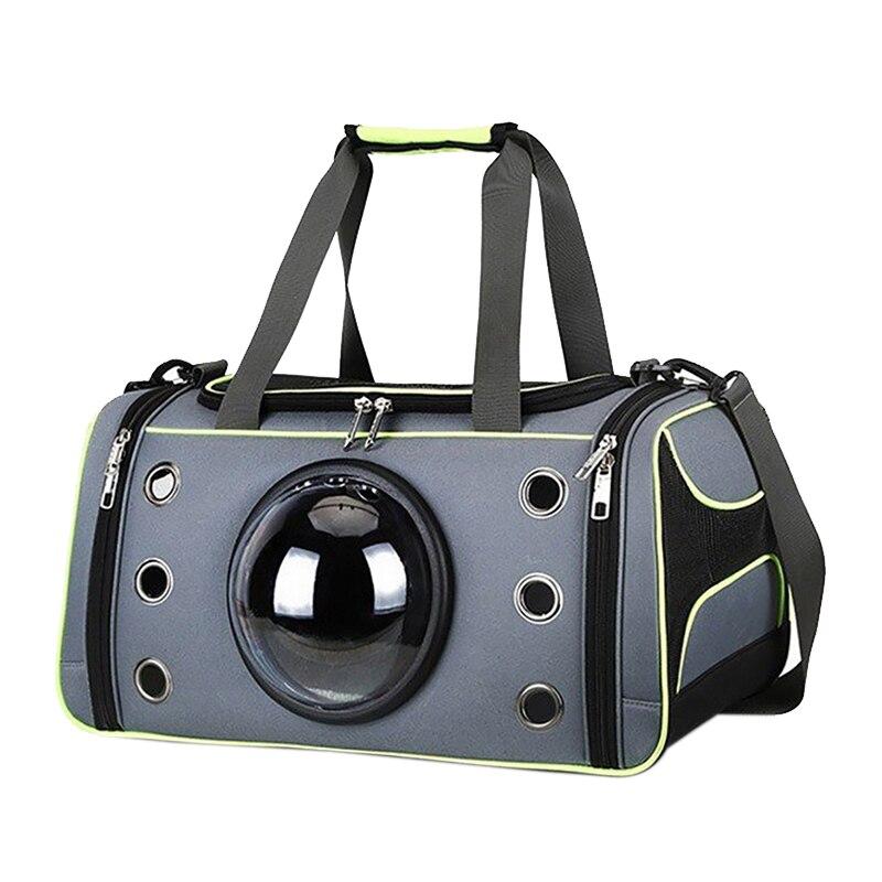 Sacoche pour animaux de compagnie espace confortable Capsule Portable chat sac à main respirant chien Out sac sangle transporteur voyage noël