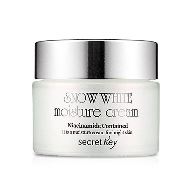 SECRET KEY Snow White Moisture Cream 50g Facial Cream Face Care Whitening moisturizing anti-aging Skin Brightening Effect free shipping 10pcs lot p0903bdl to252 offen use laptop p 100