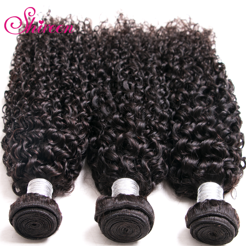 Image 4 - Brazilian Kinky Curly Hair Bundles 100% Remy Brazillian Hair Weave 3 Bundles Natural Color kinky Curl Human Hair Extensions-in Hair Weaves from Hair Extensions & Wigs