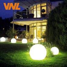 VNL IP65 LED Solar Garden Ball Light Solar Powered Lawn Lamp