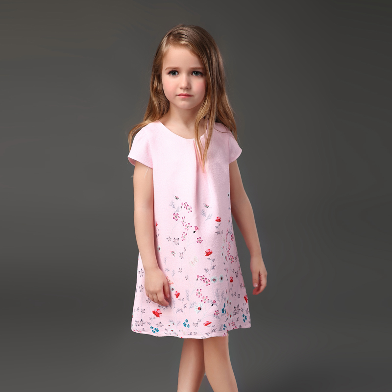 Brand pink flower girl jacquard party dress mom daughter skirt family look mother and kids girls dresses sister matching clothes winter mother and daughter dress family matching clothes cat print warm thick flannel lining mom infant girls party formal dress