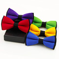 2015  New Tuxedo Fashion Tie Adjustable Bowtie Polyester Wedding Prom Party Bow Tie For Men Black Cravat Gravata Node Butterfly