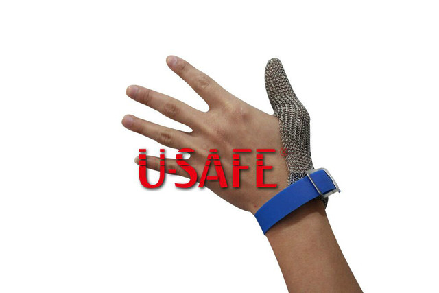 One Finger Protect Thumb Rubber Wrist Strap For Harvesting