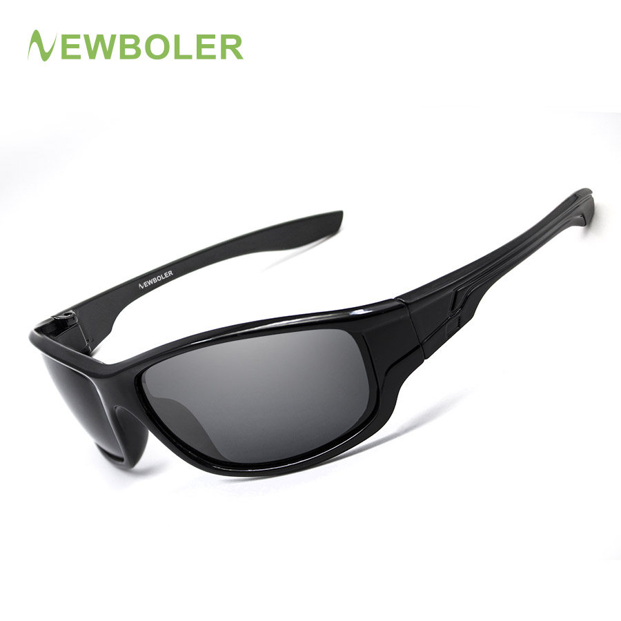 NEWBOLER Sunglasses Men Polarized Sport Fishing Sun Glasses For Men Gafas De Sol Hombre Driving Cycling Glasses Oculos Masculino 2017 veithdia cat eye sunglasses women brand designer sexy ladies sun glasses eyewear accessories oculos de sol feminino 8025