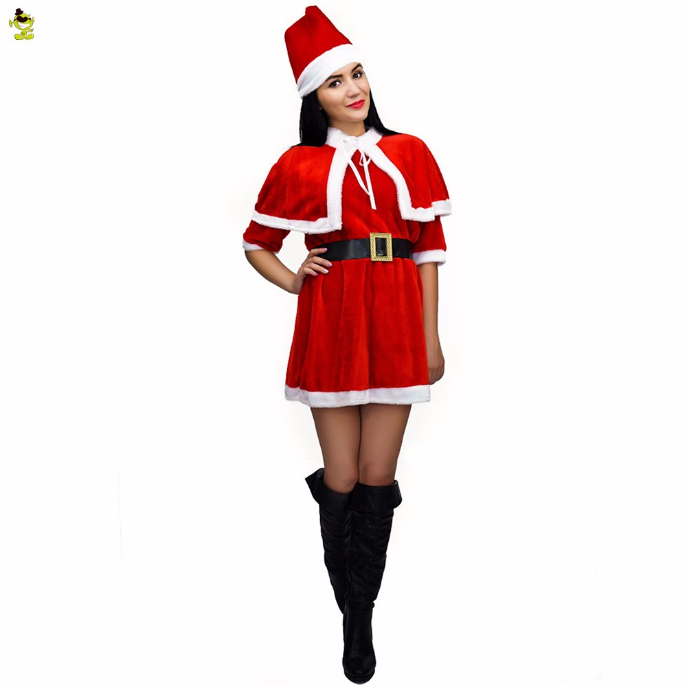 Hot y Christmas Dress Halloween Costume Girls Christmas y