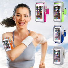 Нарукавник водонепроницаемый 4-5,5 дюймовый чехол для телефона чехол бегущий спортивный пояс сумка, держатель для телефона для iphone 8 7 6 plus/xiaomi redmi4x