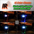 Wireless IR Control Car Interior Ambient 16 Color changing Light DIY Instrument Dashboard Light For TOYOTA Altezza
