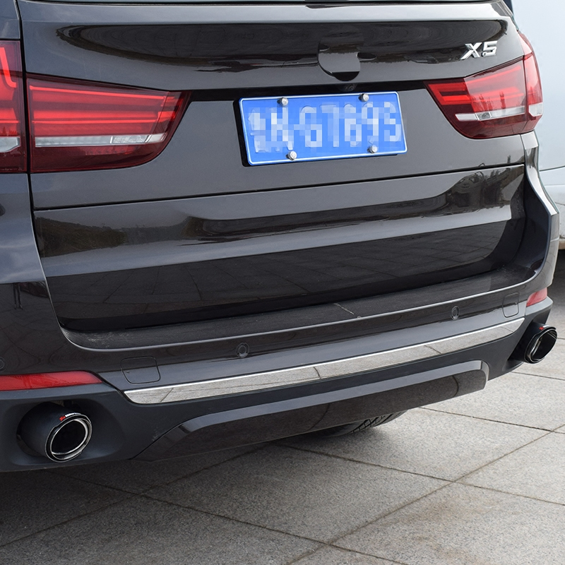 Automobile exhaust pipe modified tail laryngeal one in two for BMW x1 x5 x6 2pcs in Exhaust Headers from Automobiles Motorcycles