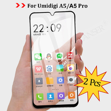 TRILANSER tempered glass for Umidigi A5 Pro screen protector A 5 Protective full cover Fast delivery