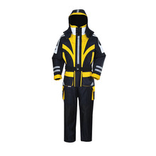 Greatrees Men 's Nylon Lifesaving Floatation Suits for Yellow waterproof breathable windproof Suits