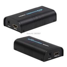 HDMI LKV373 RJ45 удлинитель для Ethernet Cat5 Cat5e Cat6 RJ45 Сплиттер расширение поддержка HD 1080P HDMI RJ45 удлинитель Xbox устройства