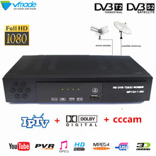 Vmade DVB T2 S2 8902 FULL HD Digitale Terrestre Ricevitore TV Satellitare H.264 MPEG 2/4 FTA TV Tuner set top box Media Player