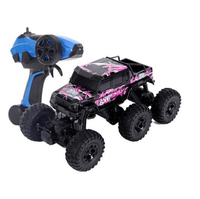 2017 Hot sell electric rc toy 1:8 6WD Six wheels Bigfoot RC remote control off road Rock Crawler RTR car Cross Country Vehicle