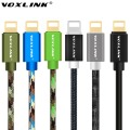 VOXLINK Original USB Cable 1M 2M 3M 8 Pin Transfer Data Sync Line Charging Charger Cable for iPhone 5 5S 5C 6 6Plus 6S for iPad