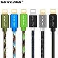VOXLINK Original USB Cabo de 1 M 2 M 3 M 8 Pinos de Transferência de Linha de Sincronização de Dados cabo de carregamento do carregador para iphone 5 5s 5c 6 6 plus 6 s para ipad