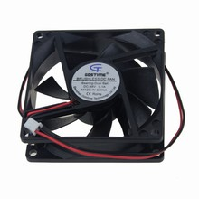 цена на 2Pcs Gdstime 80x80x25MM 80mm DC 48V 0.1A Server Square Inverter Axial Cooling Fans