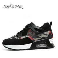 Women Shoes Running Max Sport Cushioning Zoom Leather Breathable Mesh 90s Lace Up Increase theshoes Air Sneaker Shoes for Female