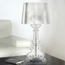Beautiful Transparent Bedside Lamp