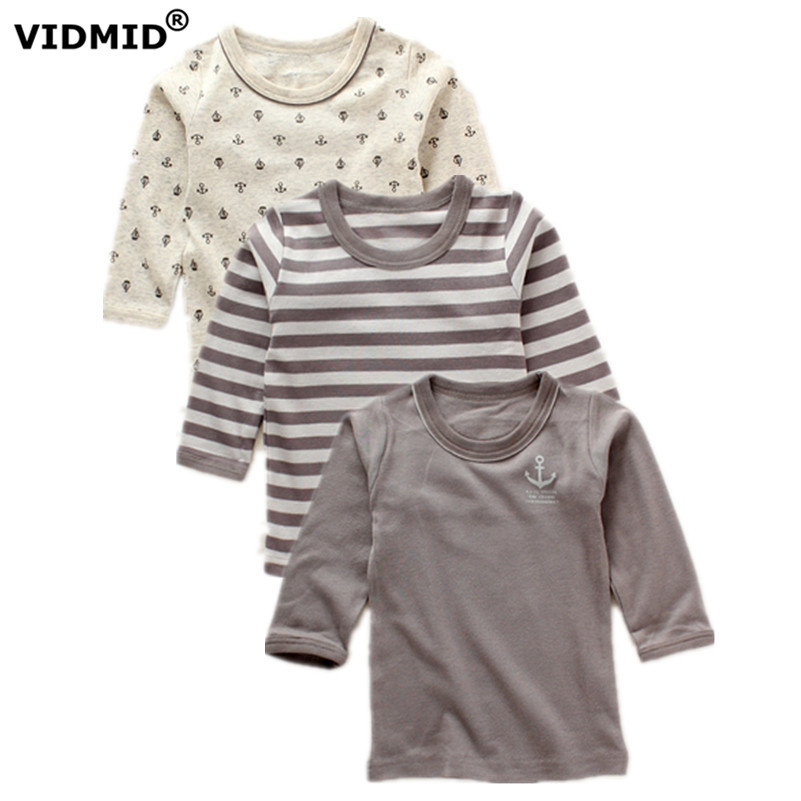 VIDMID baby boys long sleeve t-shirts