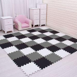 Игровой коврик-пазл, детский, из вспененного этилвинилацетата, размер каждого блока 29х29 см