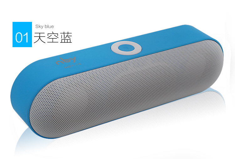 new nby-18 mini portable wireless bluetooth speaker with 3d stereo music and tf support