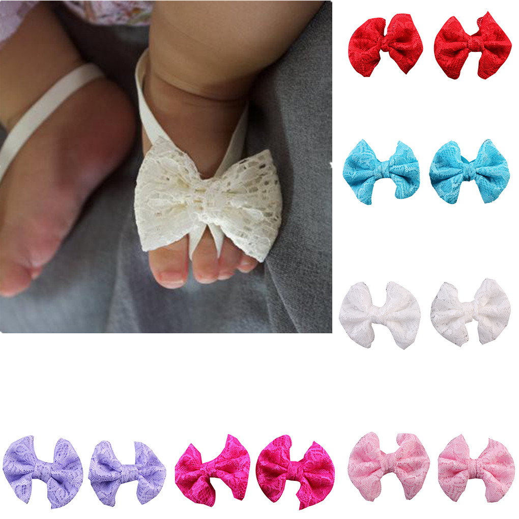 Новинка, эластичный браслет для детской ступни, сандалии для новорожденных, аксессуары для ног