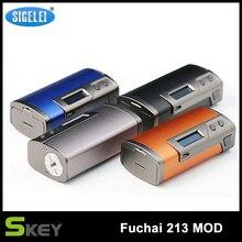 เดิมSigelei Fuchai 213กล่องสมัย10วัตต์-213วัตต์0.1-3.0ohm Fuchai 213วัตต์TCสมัยอิเล็กทรอนิกส์บุหรี่MODโดยไม่ต้อง18650แบตเตอรี่