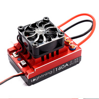 Flycolor Lightning Series Car ESC 60A 80A 120A Brushless Electronic Speed Controller 2 3S for RC Racing Speeding Car Model