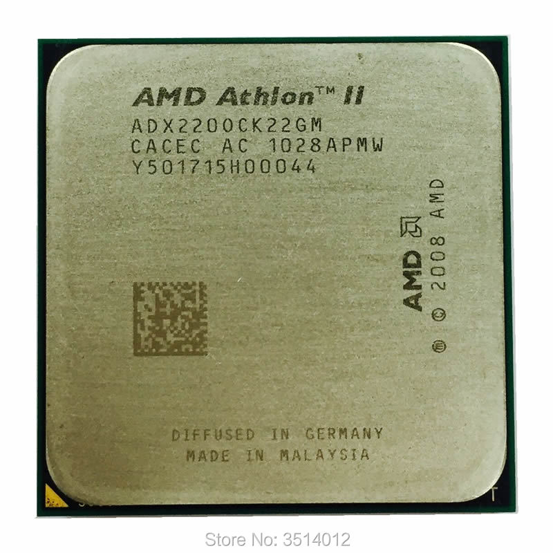 AMD Athlon II X2 220 X2 220 2.8 GHz Dual-Core CPU Processor Socket AM3