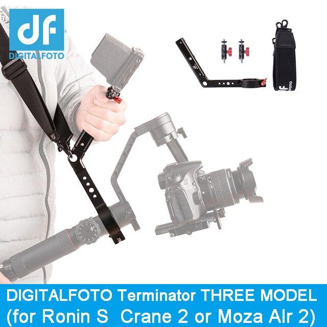 Terminator versatile handle gimbal accessories for Ronin S Zhiyun Crane 2 like ZHIYUN weebill design mounting