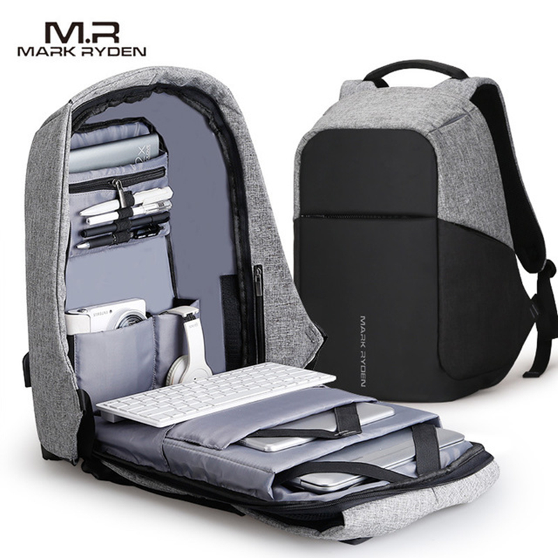 Mark Ryden Multifunction USB Charging Men 15inch Laptop Backpacks For Teenager Fashion Male Mochila Travel backpack