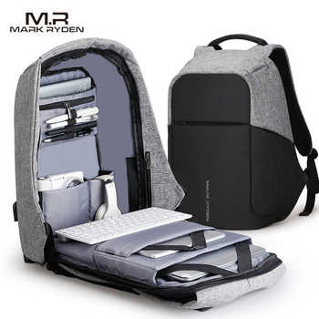 Mark Ryden Multifunction USB Charging Men 15inch Laptop Backpacks For Teenager Fashion Male Mochila Travel backpack anti thief - DISCOUNT ITEM  42% OFF All Category