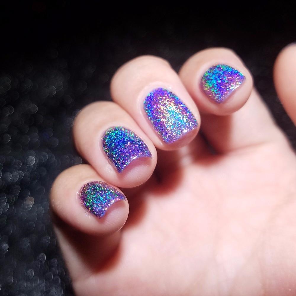 Hologram Gel Nail Polish: REALCHIC NEWEST Brand 7ml Holo Luminous Glitter Gel Nail