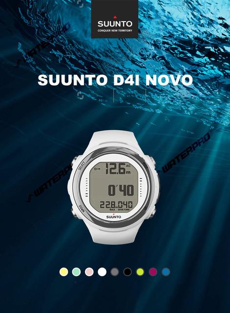 Suunto D4i Novo Scuba Diving Computer with USB Dive Computer for Scuba Diving Snorkel