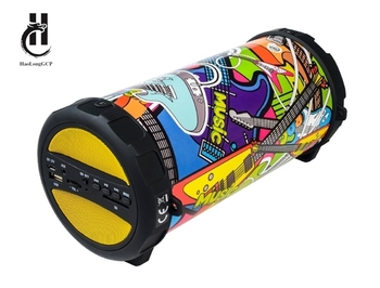 new product outdoor portable wireless bluetooth speaker high quality sound with TF Card USB AUX function speaker