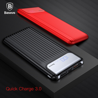 Baseus 10000mAh QC3 0 Quick Charge Power Bank For IPhone X 8 7 6 Plus Samsung