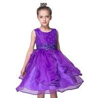 Retail Elegant Tulle Baby Girl Baptism Wedding Dress Zipper Lace Infant Birthday Dresses For Toddler Baby